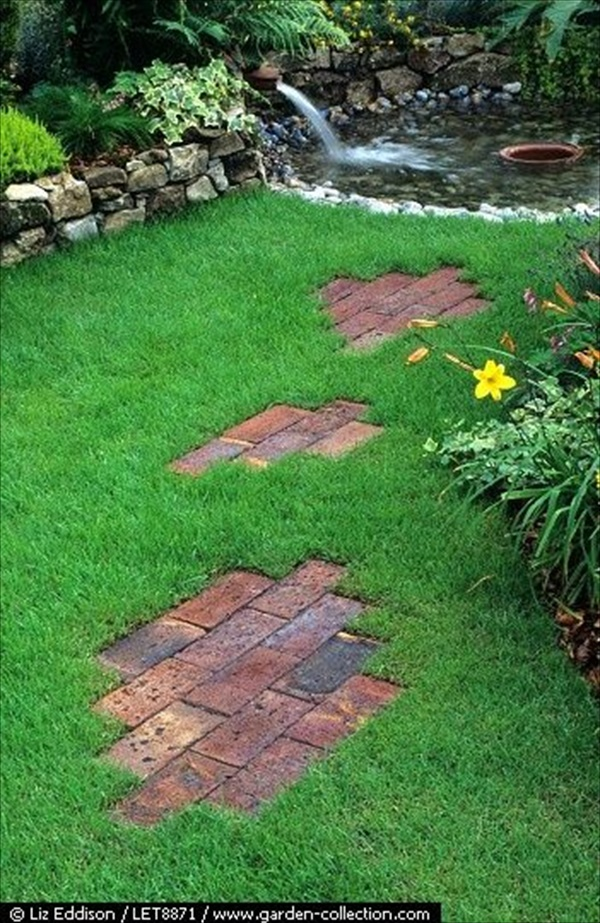 Front Yard Landscaping With Stepping Stones 2017 2018