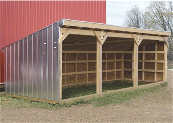 Plans building horse shelter how to build plans share on for Three sided shed plans