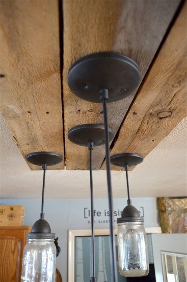 Diy Mason Jar Kitchen Lighting Easy And Crafts