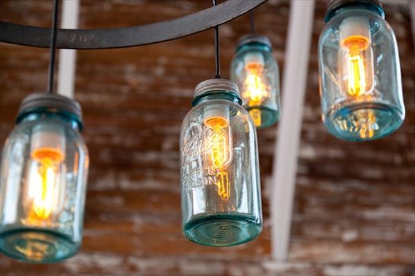 Diy Mason Jar Kitchen Lighting Easy Diy And Crafts