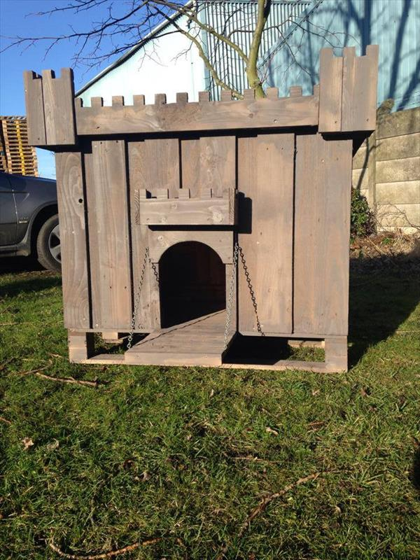 11 Dog House Made Of Wooden Pallets EASY DIY And CRAFTS