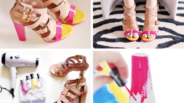 DIY Girly Shoes