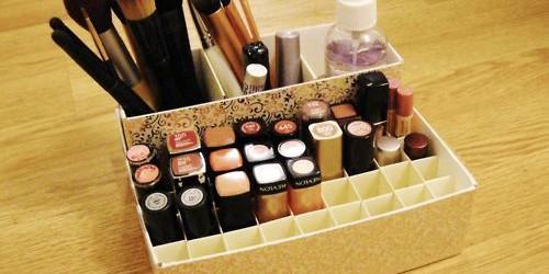 DIY Bow Make Up Organize