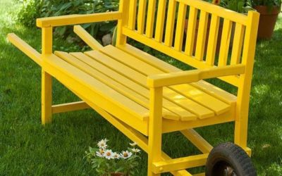 build your own pallet bench