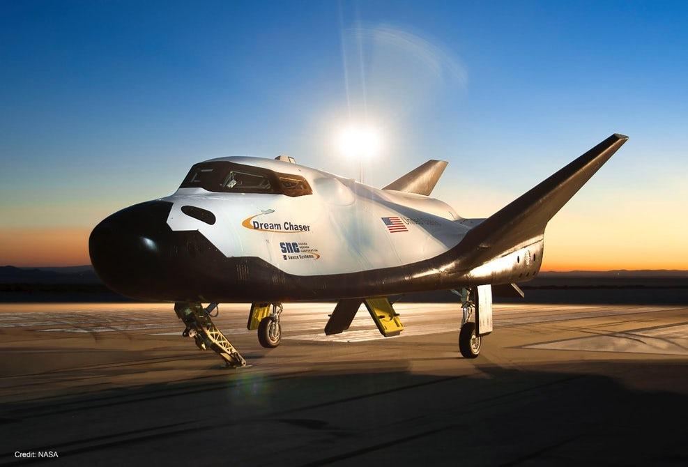dream chaser test flight