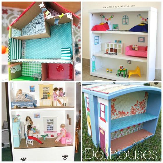 DIY Dollhouse Ideas